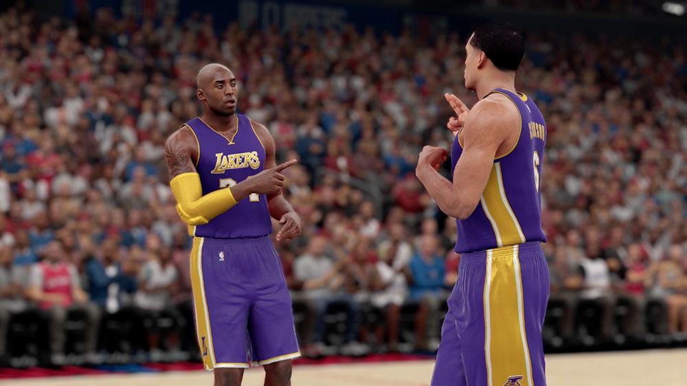 NBA 2K16 Screenshot