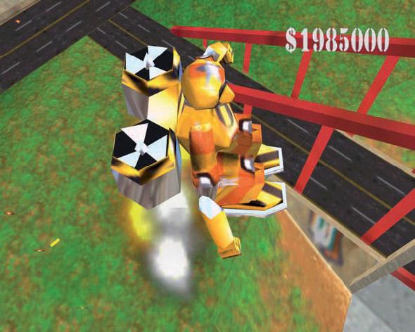 Blast Corps Rare Nintendo 64