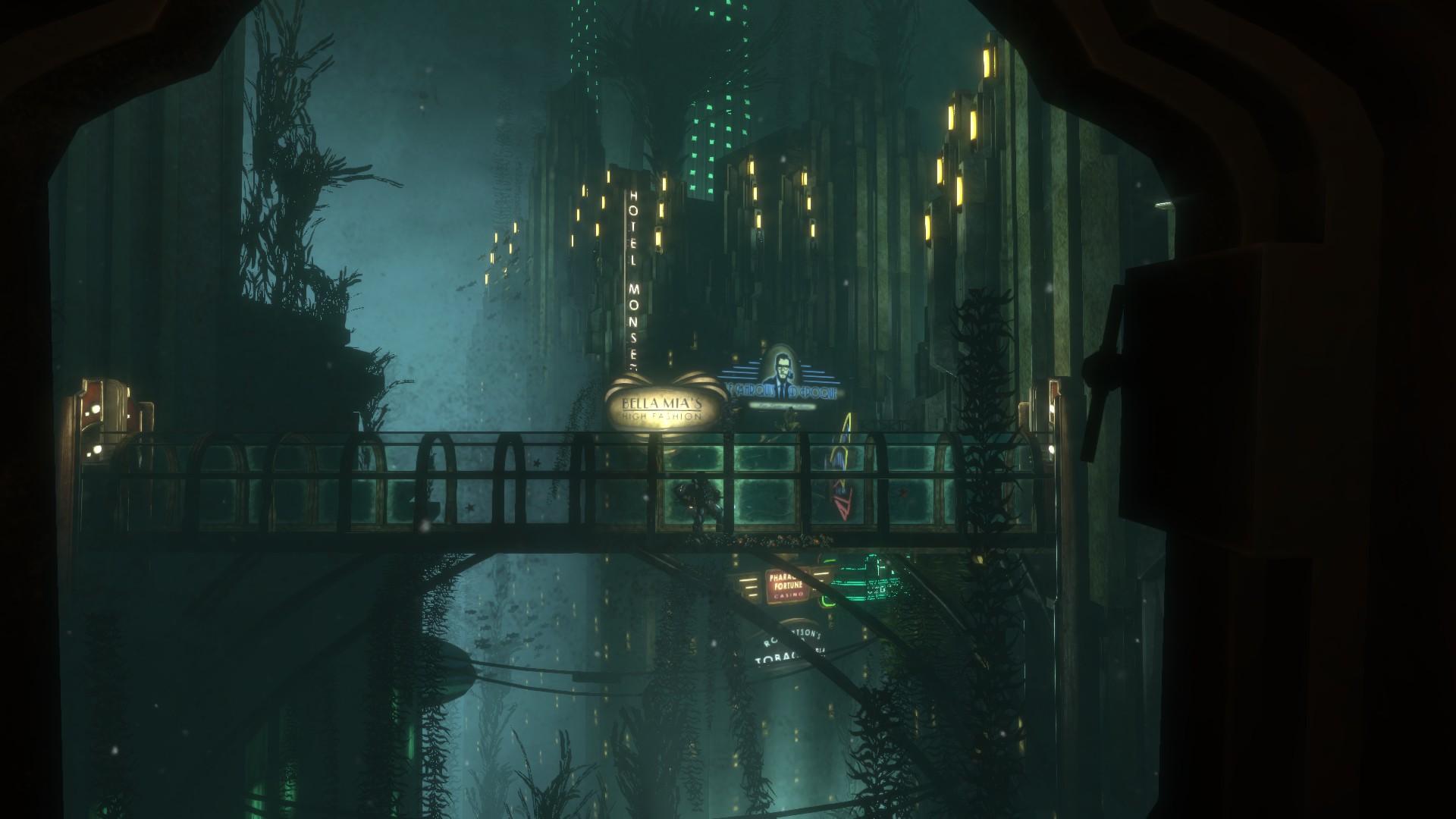 Kuva Bioshock Remasteredista