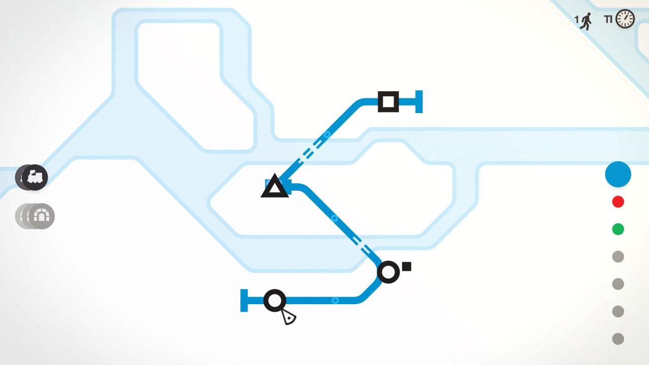 Mini Metro alussa kaikki näyttää niin simppeliltä