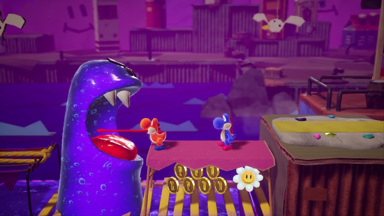 Yoshi's Crafted World satamassa kaksinpelinä