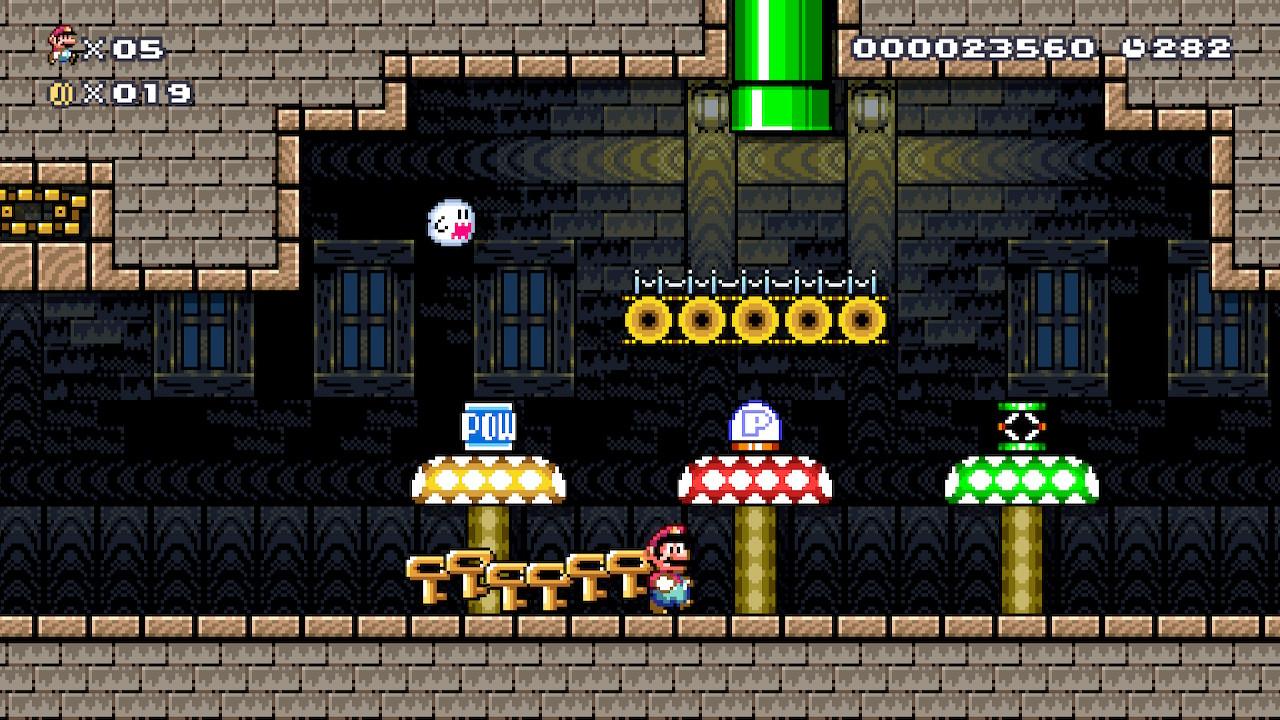 Super Mario Maker 2 kuusi avainta