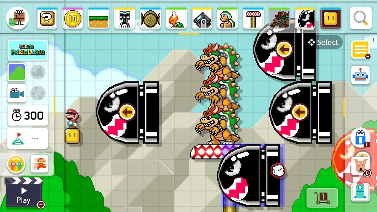 Super Mario Maker 2 huonoa kenttäsuunnittelua