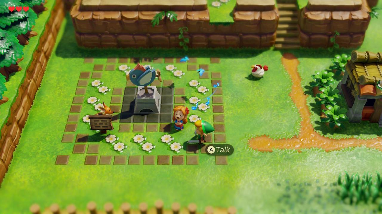 The Legend of Zelda: Link's Awakening Marin lauleskelee