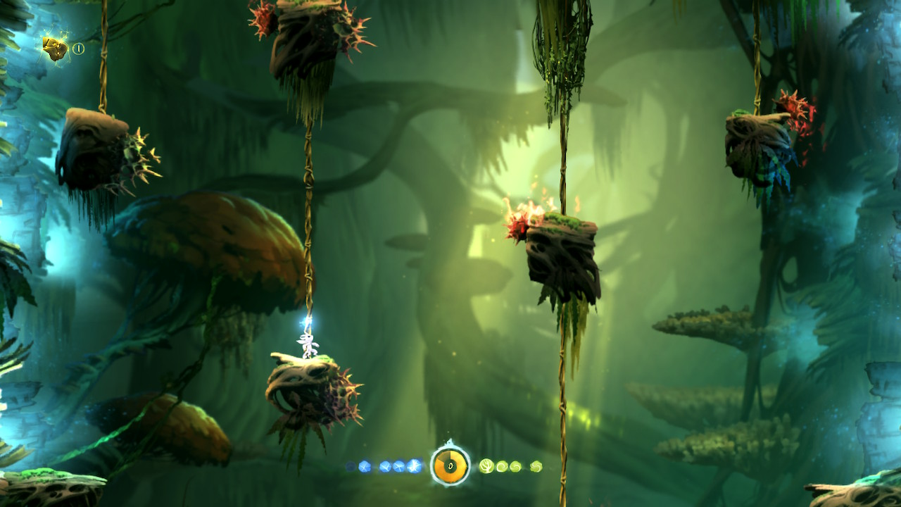 Ori and the Blind Forest Definitive Edition Switch sitten muuten kiivetään