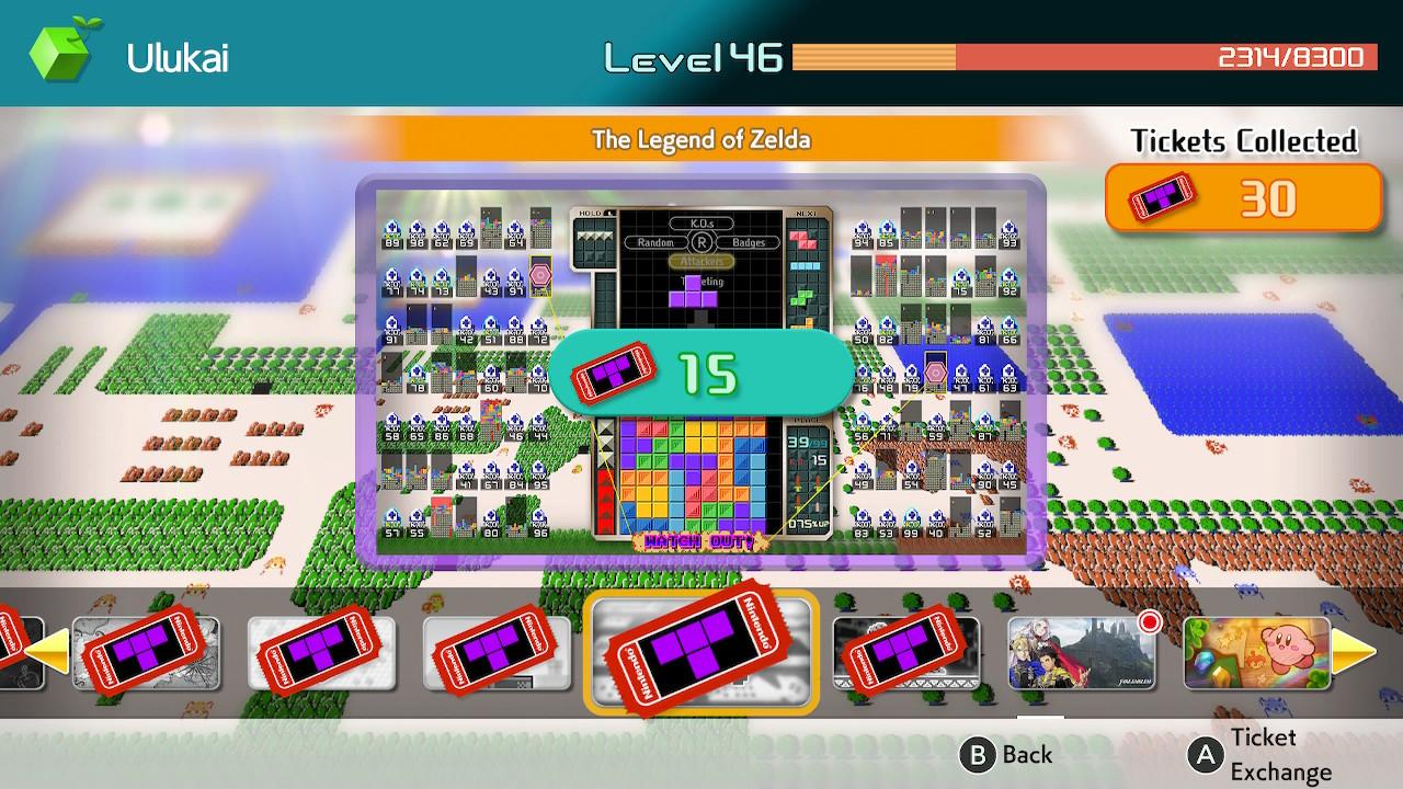Tetris 99 teemoja kaupan