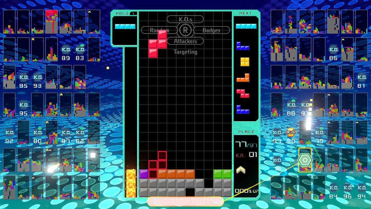 Tetris 99 pelialue