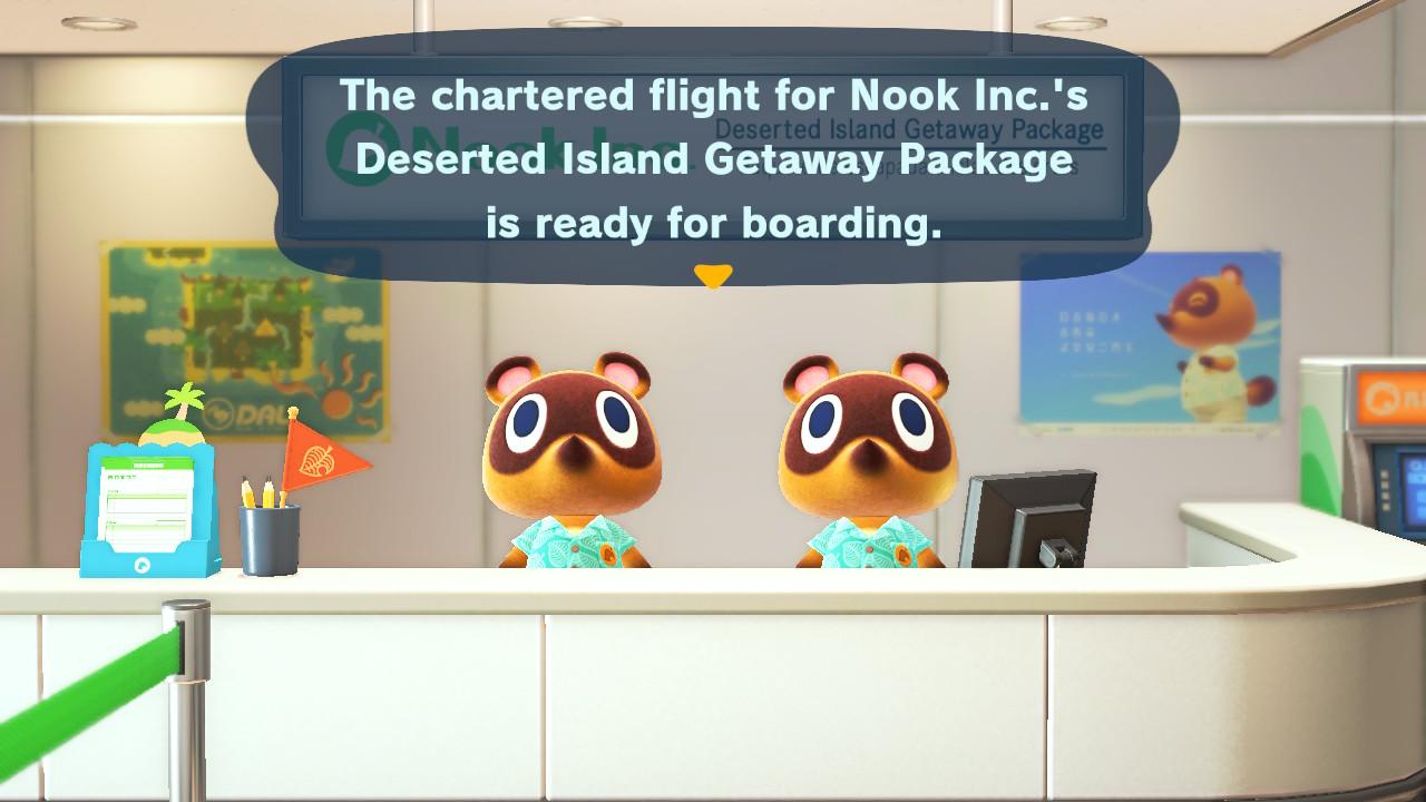 Animal Crossing: New Horizons lentoasemalta vauhtia