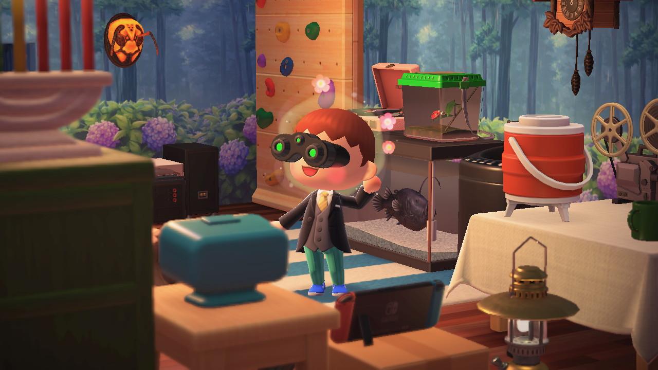 Animal Crossing: New Horizons asunto täynnä aarteita