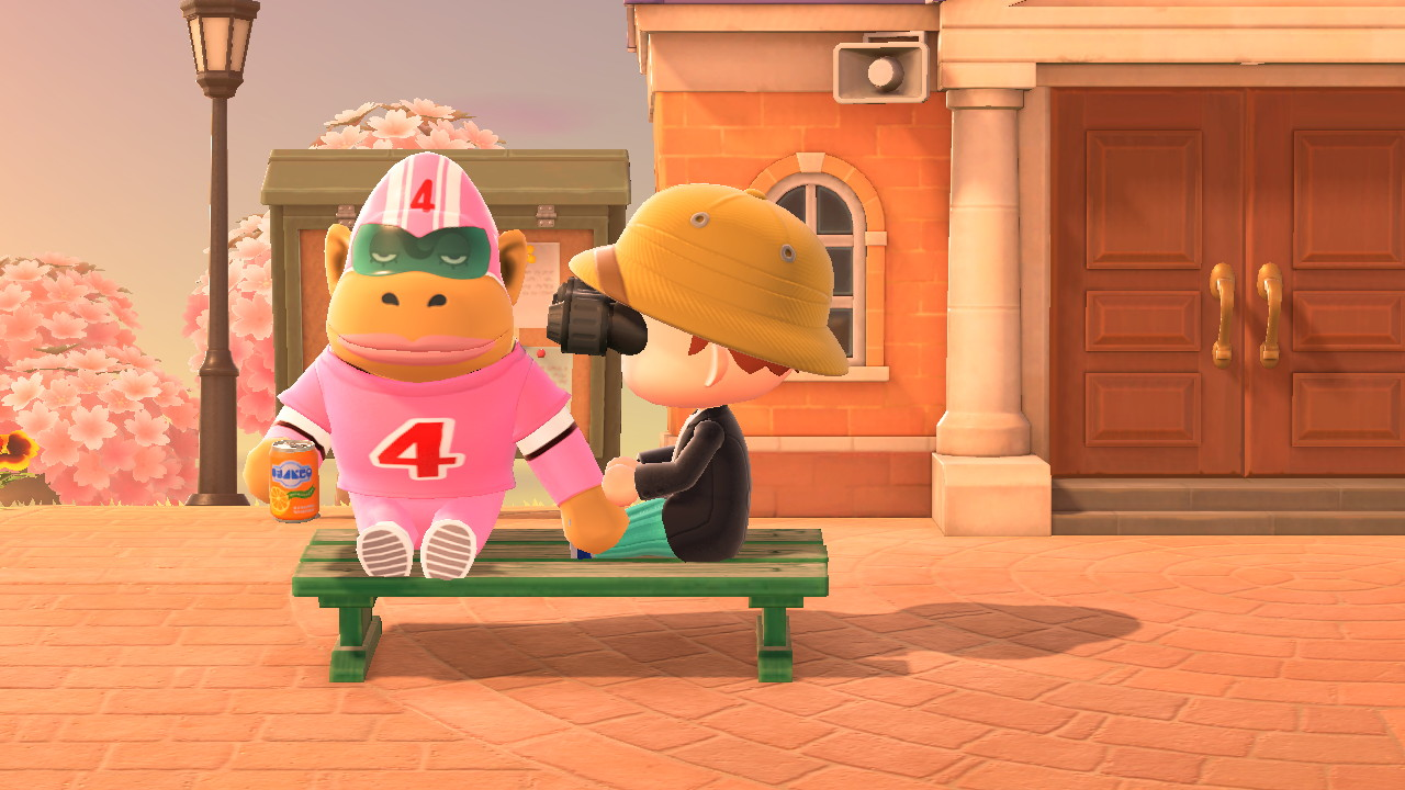 Animal Crossing: New Horizons Rocket-gorilla penkillä