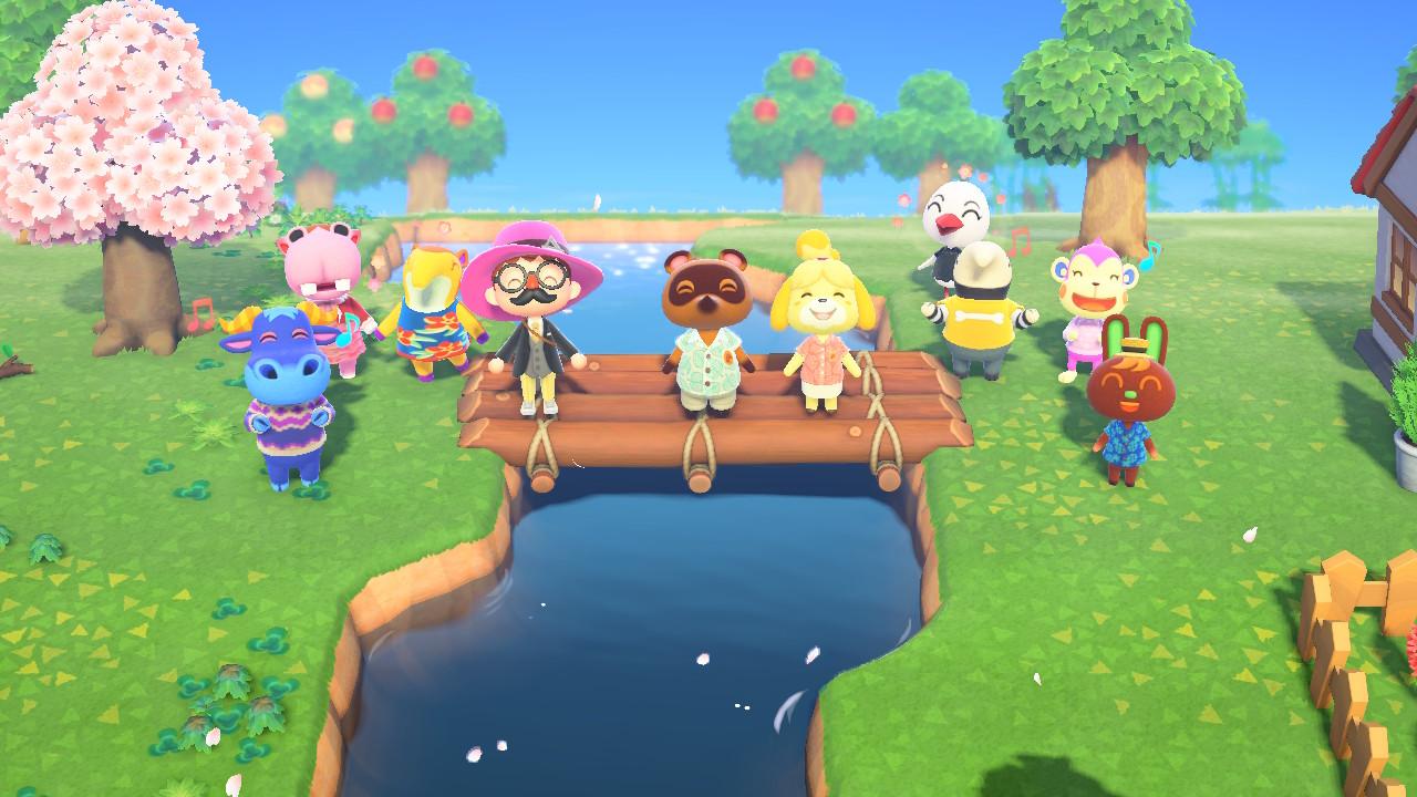 Animal Crossing: New Horizons Midgarin kyläläiset
