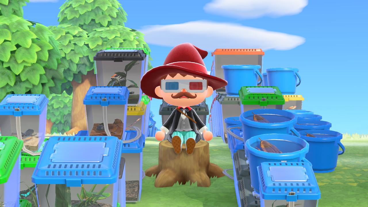 Animal Crossing: New Horizons ötökkämies koska