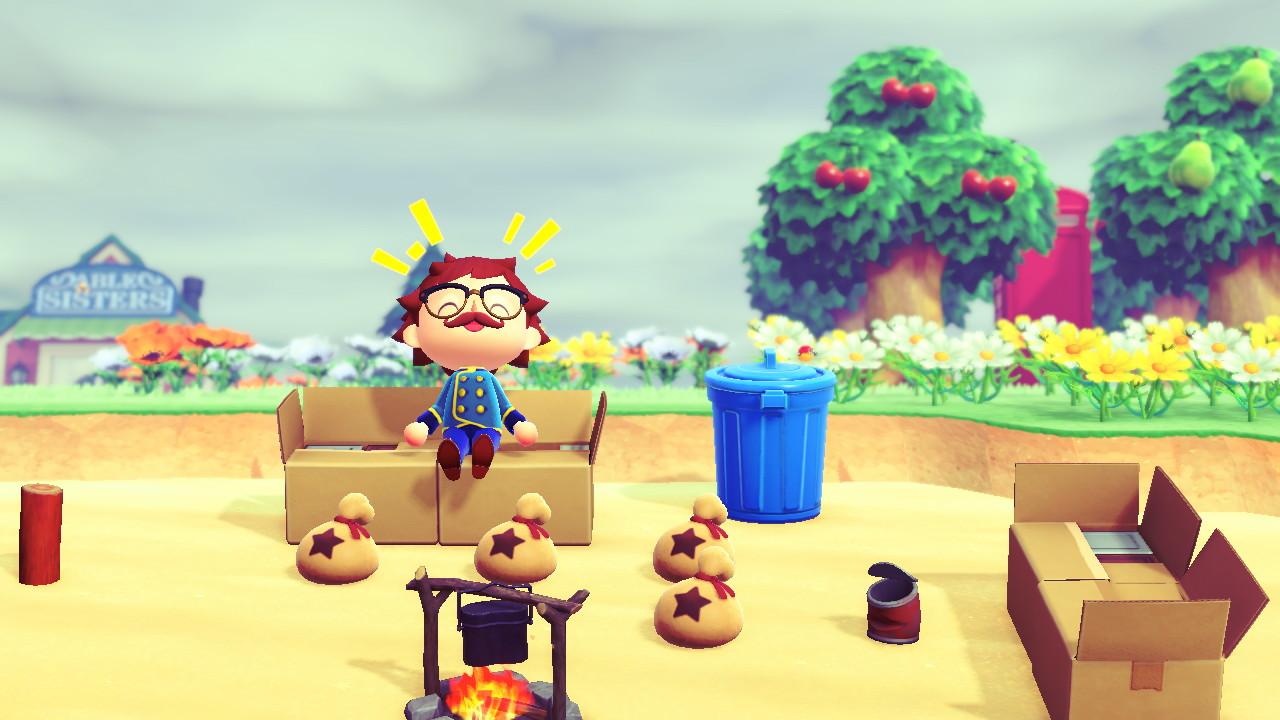 Animal Crossing: New Horizons halvalla rannalla