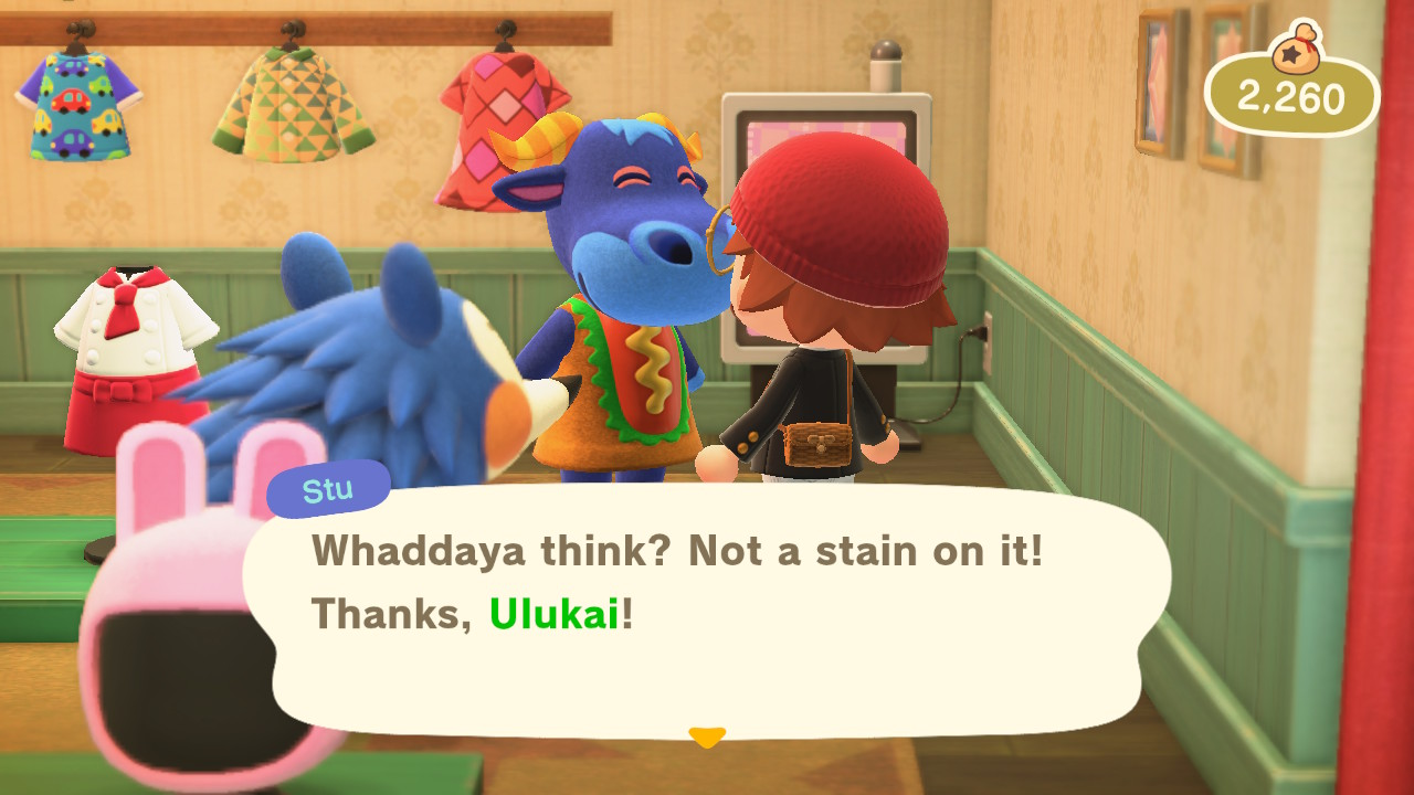 Animal Crossing: New Horizons iso virhe hodarivaatetus