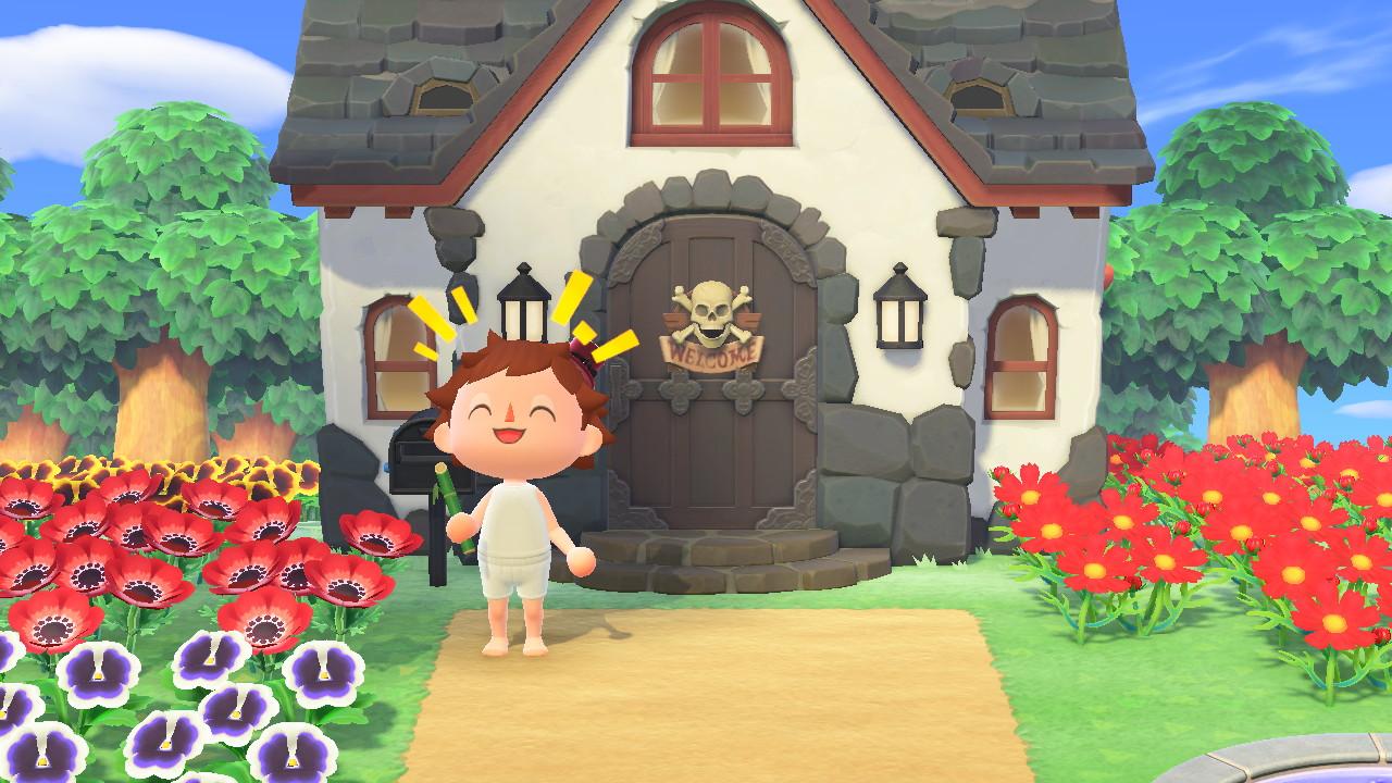 Animal Crossing: New Horizons Bergsala-talolla