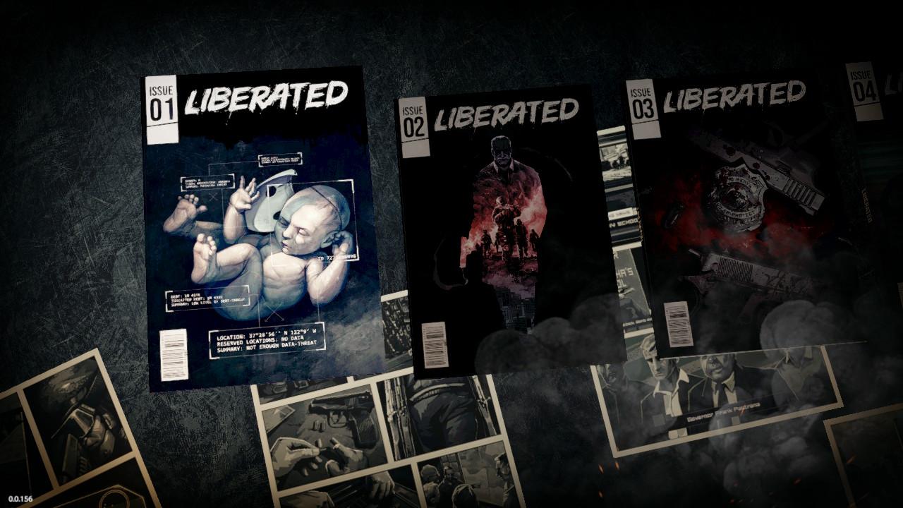 Liberated Switch sarjakuvia