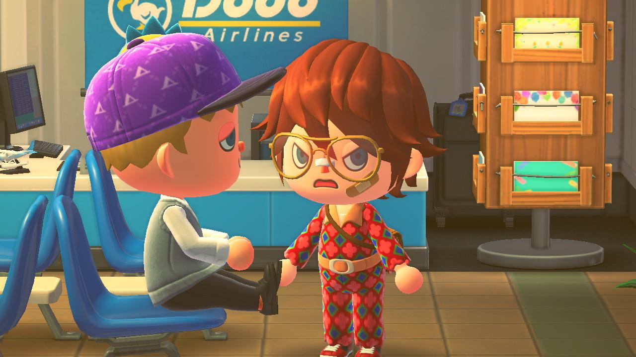 Animal Crossing: New Horizons räymäässä Bergsalan saarella