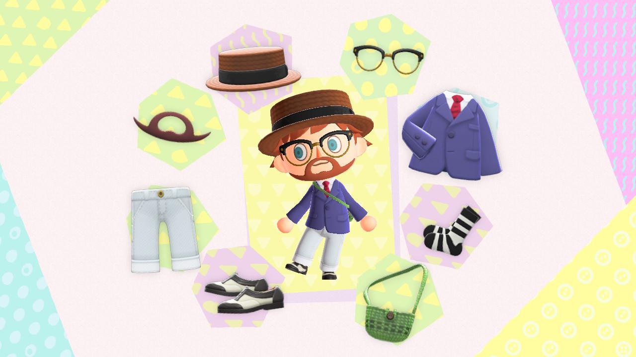 Animal Crossing: New Horizons visiitille Bidenin saarelle, uudet vaatteet päälle