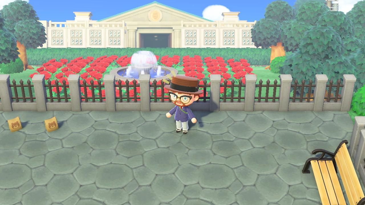 Animal Crossing: New Horizons Biden HQ ja valkoinen talo