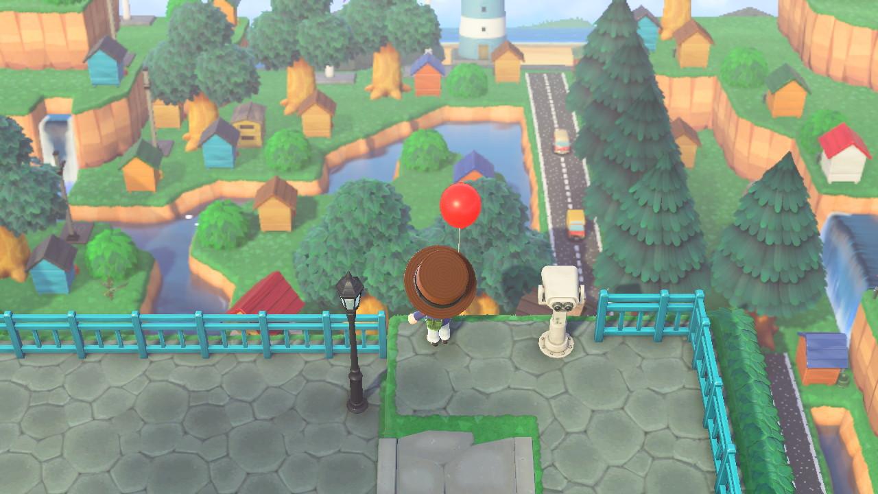 Animal Crossing: New Horizons Biden HQ -saarella perspekstiivi