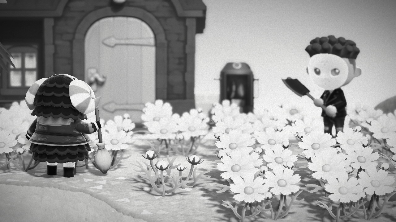 Animal Crossing: New Horizons halloween kamalasta lampaasta eroon