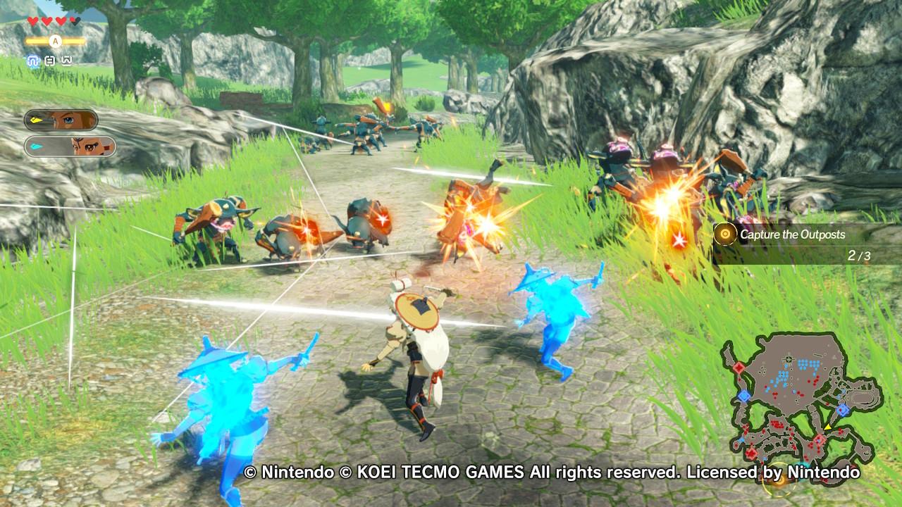 Hyrule Warriors: Age of Calamity Impa klooniensa kera