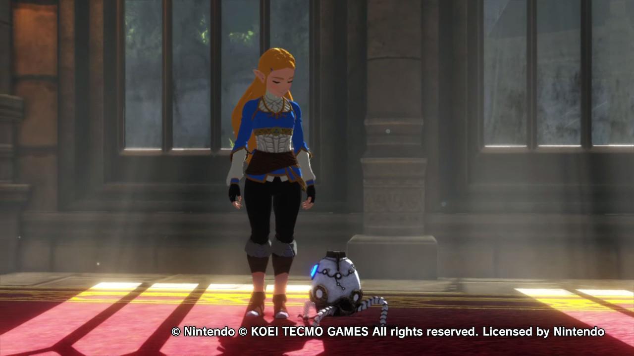 Hyrule Warriors: Age of Calamity Zelda ja robottipallero