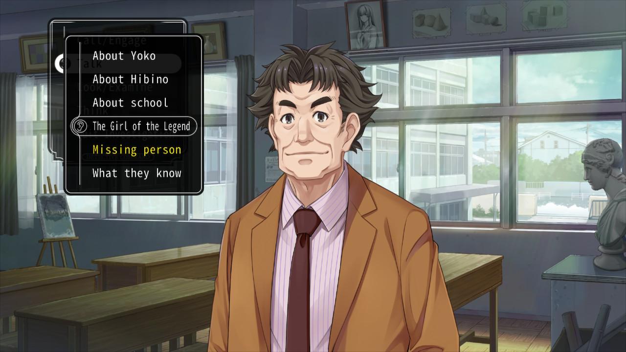 Famicom Detective Club The Girl Who Stands Behind keskusteluaiheet
