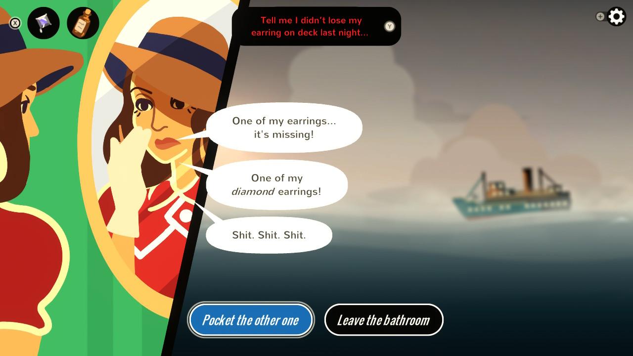 Overboard! Herttinen, korvakoruni!