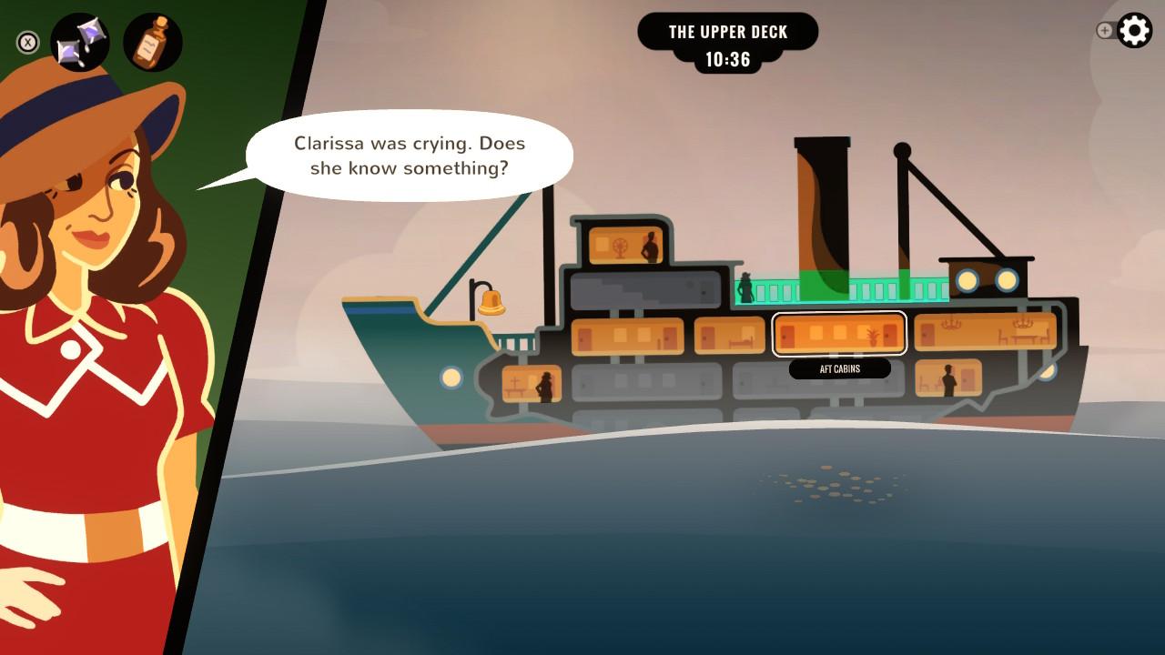 Overboard! Laivalla liikkumista
