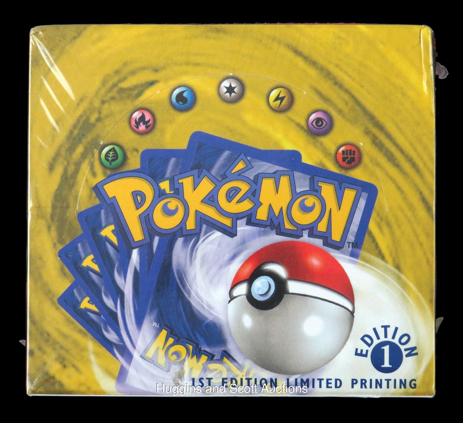 Pokémon kortteja avaamaton paketti huutokaupassa kuva 2
