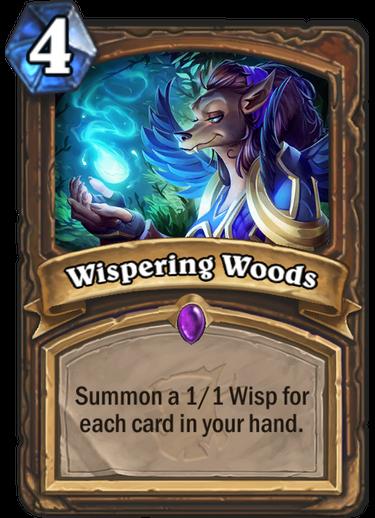 Hearthstone: Wispering Woods