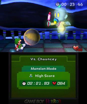 Luigi's Mansion 3DS pomotaisto