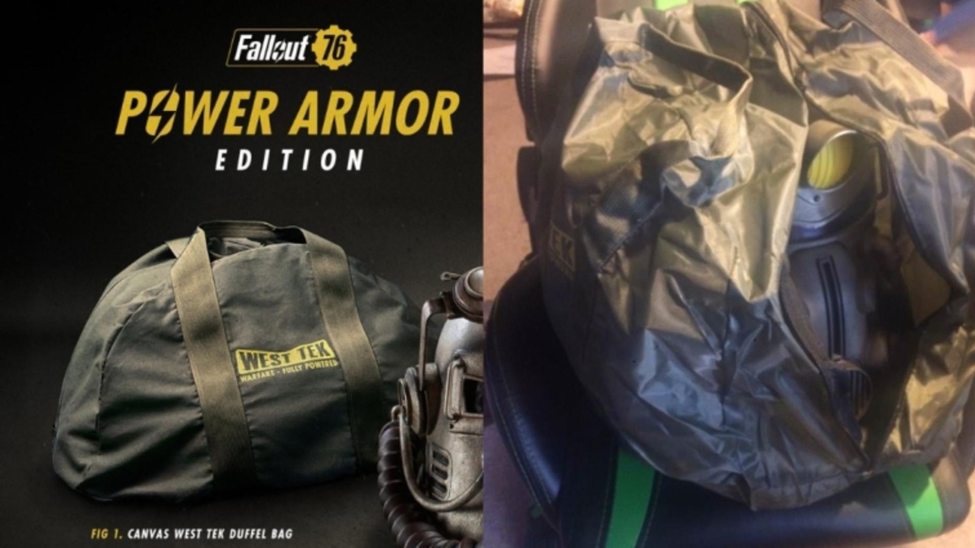 Bethesdan kassit ja roskapussit Fallout 76