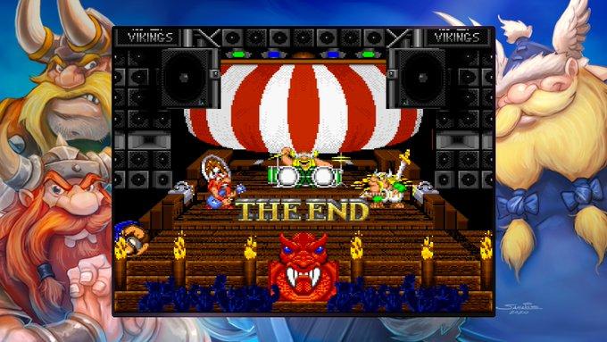 Blizzard Arcade Collection Lost Vikings konserttilava