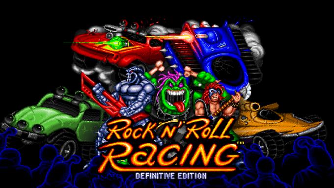 Blizzard Arcade Collection Rockn Roll Racing kansikuva