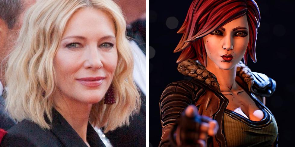 Borderlands-näyttelijät Cate Blanchett