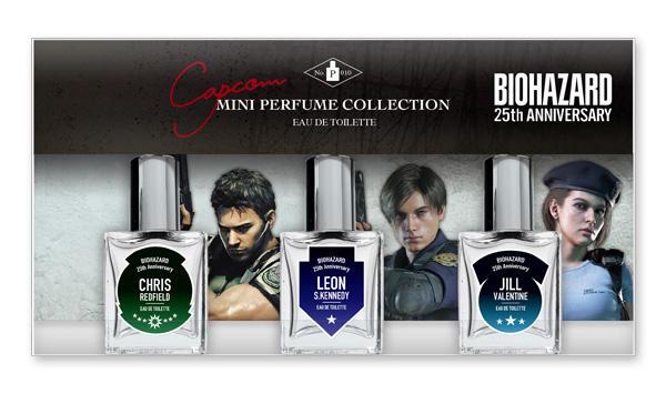 Capcom Mini Perfume Collection Resident Evil kuva