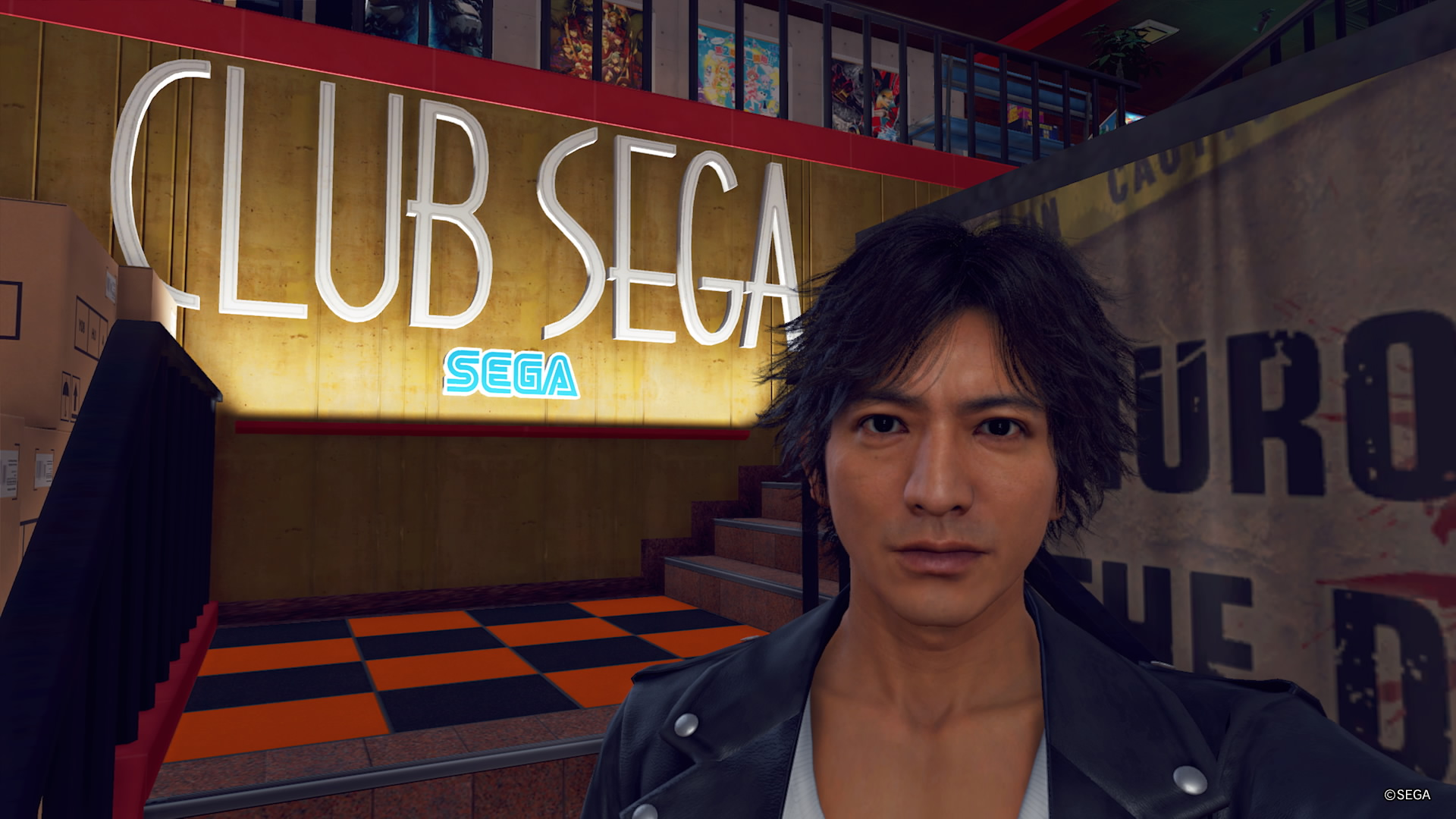 Club SEGA (Theater Square) Judgment Yagami