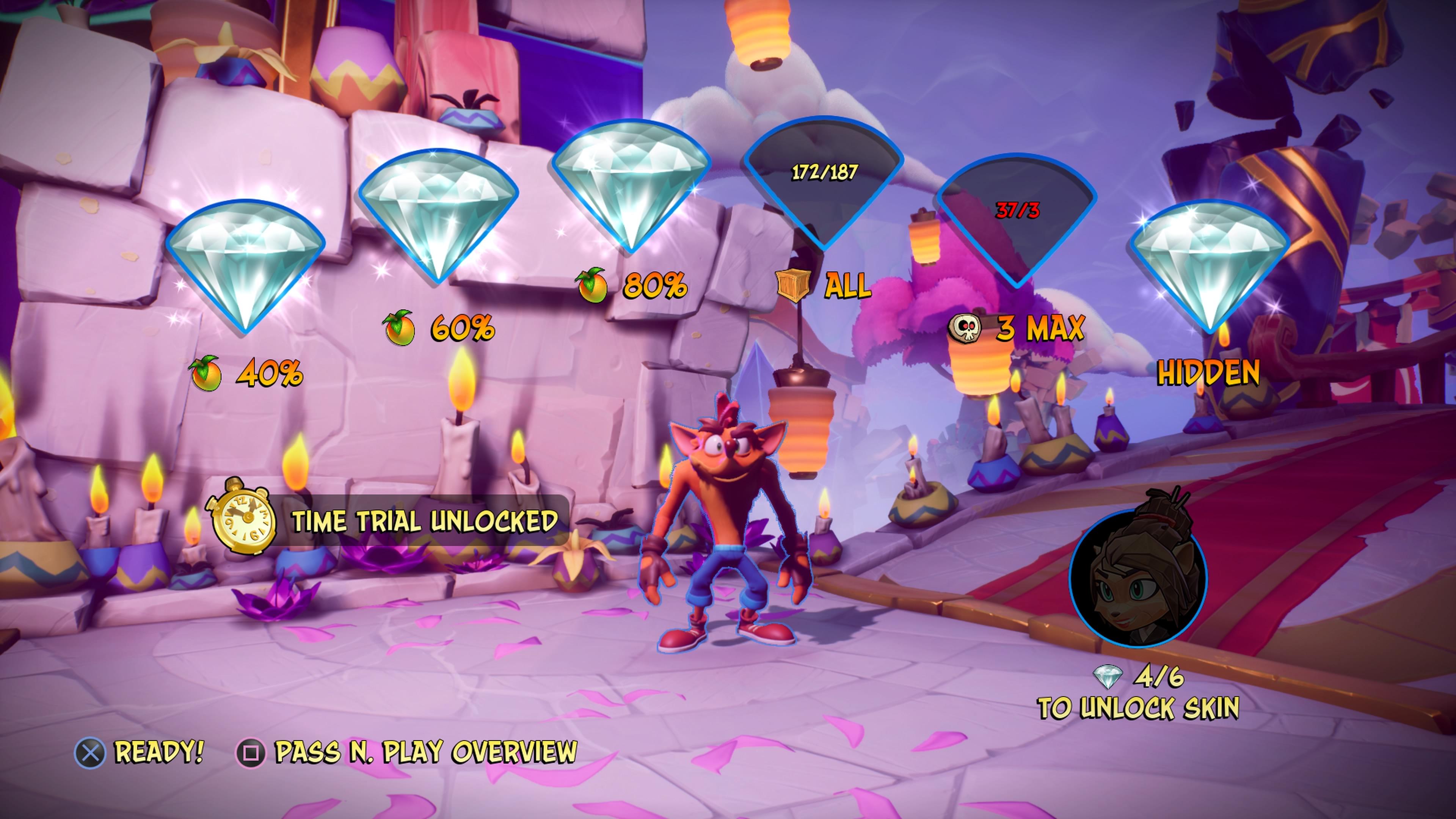 Crash Bandicoot 4: It's About Time kuva kentän lopusta