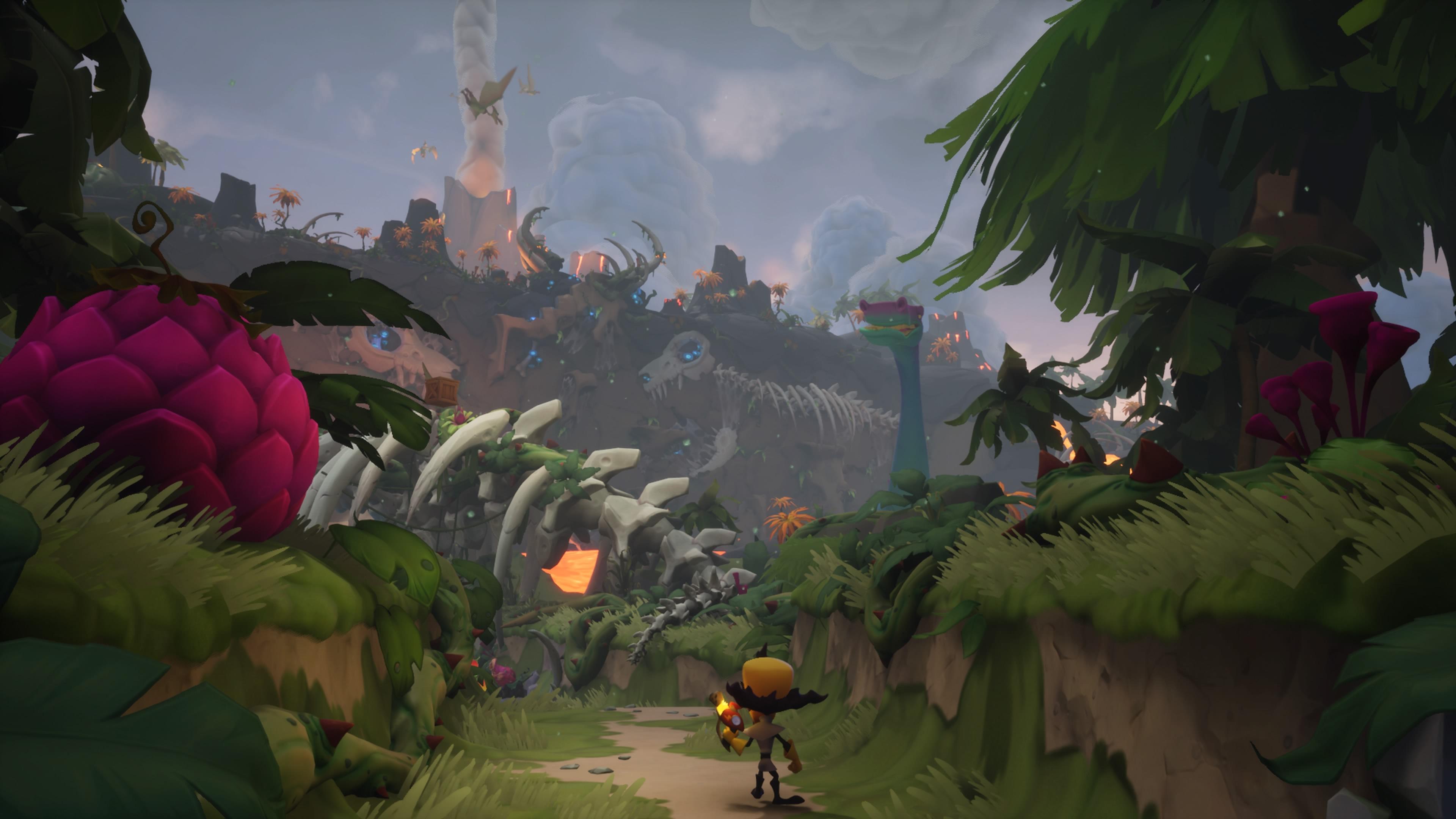 Crash Bandicoot 4: It's About Time Neo Cortex ja dinot