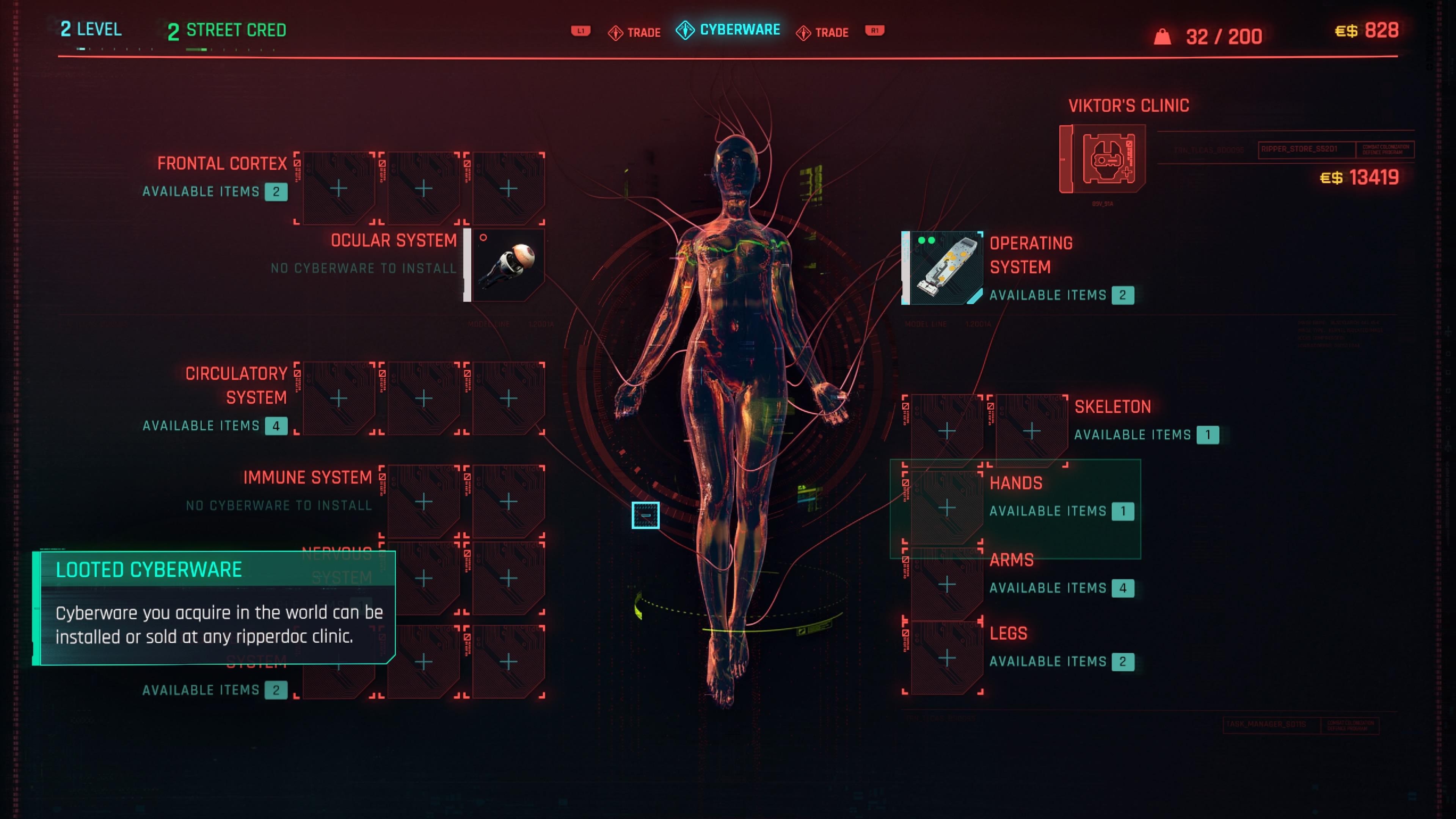 Cyberpunk 2077 kropan modaamista