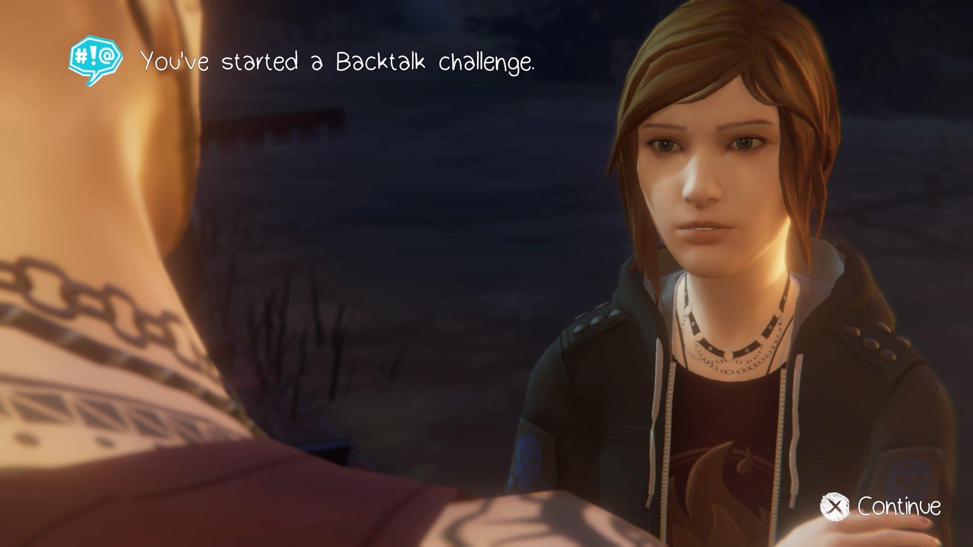 Life Is Strange: Before the Storm: Backtalk Challenge