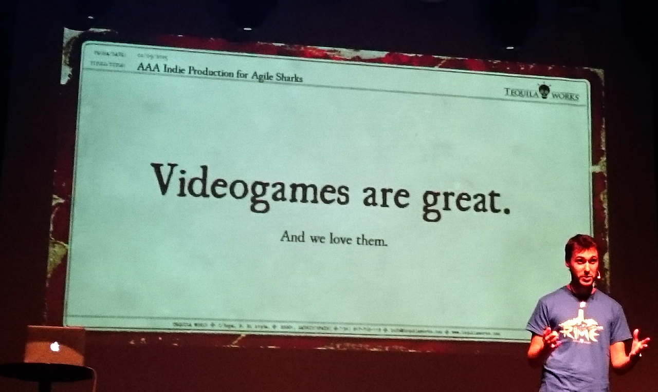 TequilaWorks: Videogames are great, and we love them!