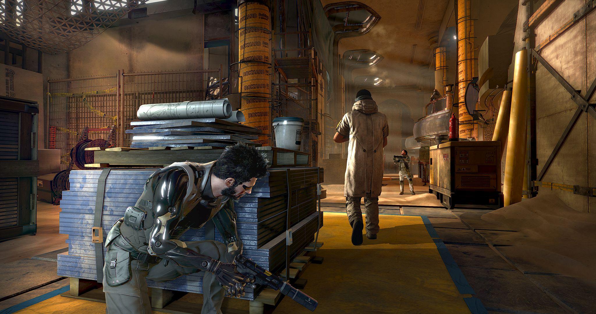 Deus Ex Mankind Divided screenshot