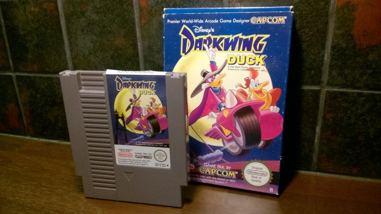 Darkwing Duck Varjoankka kasetti ja kotelo