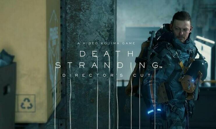 Death Stranding Director's Cut ja pahvilaatikko