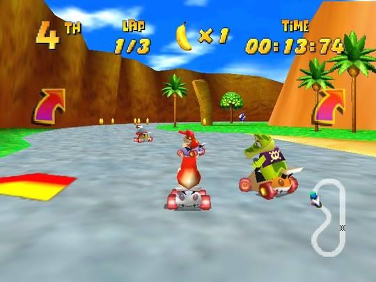 Diddy Kong Racing Nintendo 64 Conker kisaa