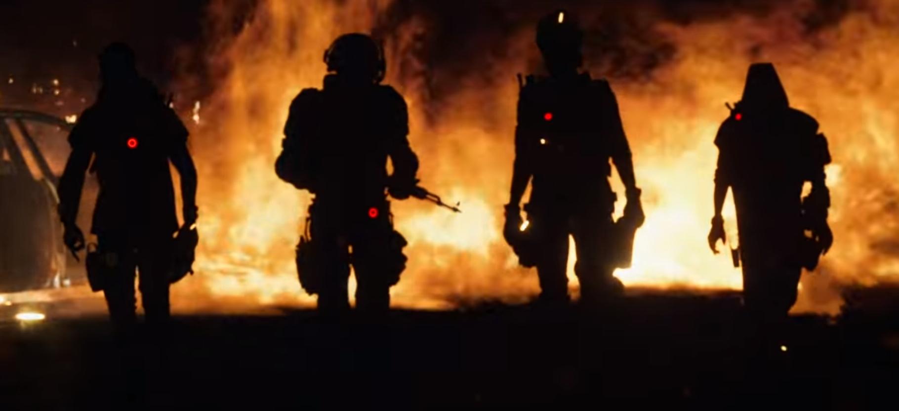 Division 2 Rogue-agentit tulen keskellä
