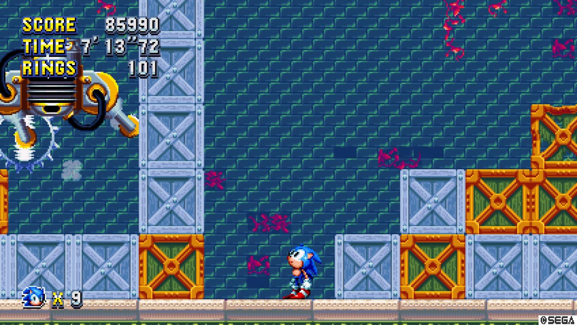 Sonic Mania: Sonic